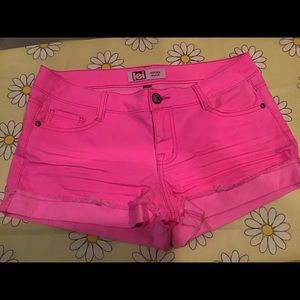 LEI pink shorts sized 11.